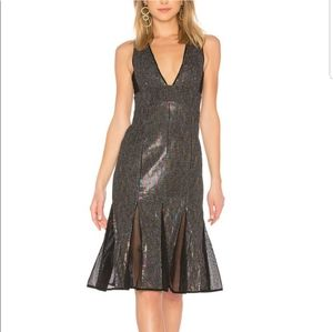 X by NBD Cheryl Temples Sequined Dress